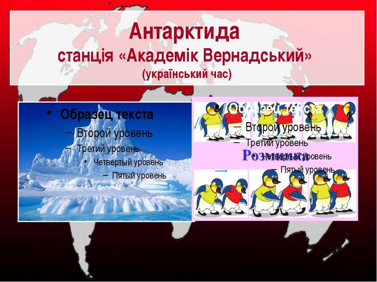 Антарктида станція «Академік Вернадський» (український час)