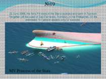 21 June 2008, the ferry Princess of the Stars capsized and sank in Typhoon Fe...