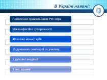 В Україні наявні: