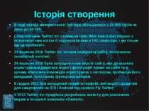 Історія створення В ході заходу використання Твіттера збільшилася з 20 000 тв...