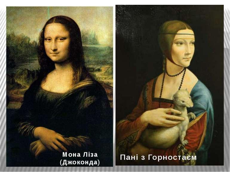 Мона Ліза (Джоконда) Пані з Горностаєм