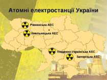Атомні електростанції України