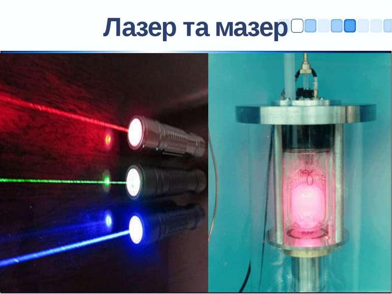 Лазер та мазер