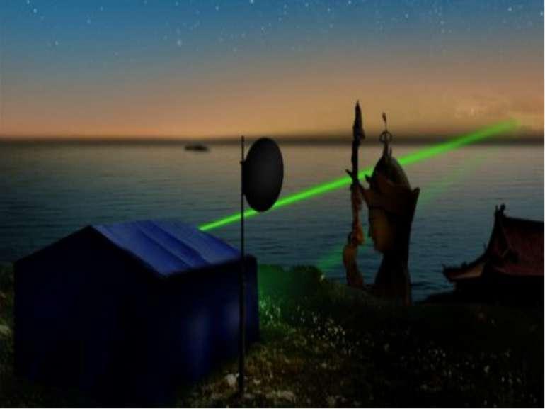 Передача світлових сигналів через оптоволоконний оптичний кабель є надійним і...