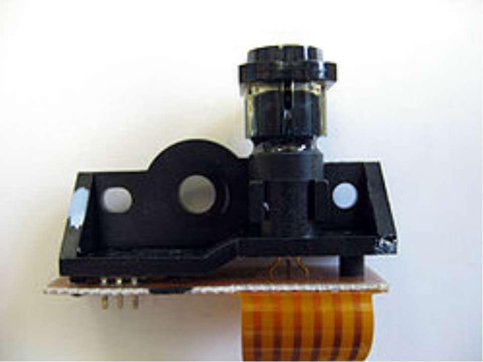 Напівпровідниковий лазер, застосовуваний у вузлі генерації зображення принтер...