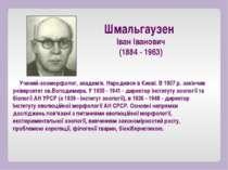 Учений-зооморфолог, академік. Народився в Києві. В 1907 р. закінчив університ...