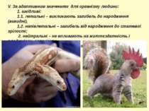 V. За адаптивним значенням для організму людини: 1. шкідливі: 1.1. летальні –...