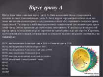 Цей рід має лише один вид, вірус грипу A. Дикі водоплавні птахи є природними ...