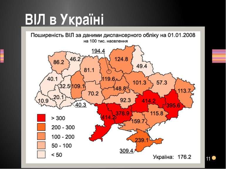 ВІЛ в Україні 11 Заголовок раздела