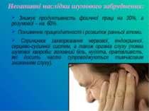 Негативні наслідки шумового забруднення: Знижує продуктивність фізичної праці...