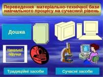 Переведення матеріально-технічної бази навчального процесу на сучасний рівень...