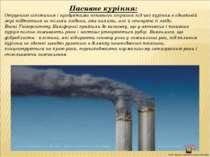 Пасивне куріння: Отруєнню нікотином і продуктами неповного згорання під час к...