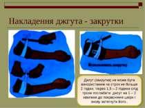 Накладення джгута - закрутки Джгут (закрутка) не може бути використаним на ст...
