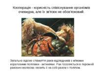 Кооперація - корисність співіснування організмів очевидна, але їх зв'язок не ...