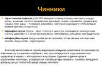 Чинники стрептококова інфекція (у 60-80% випадків гострому гломерулонефриту п...