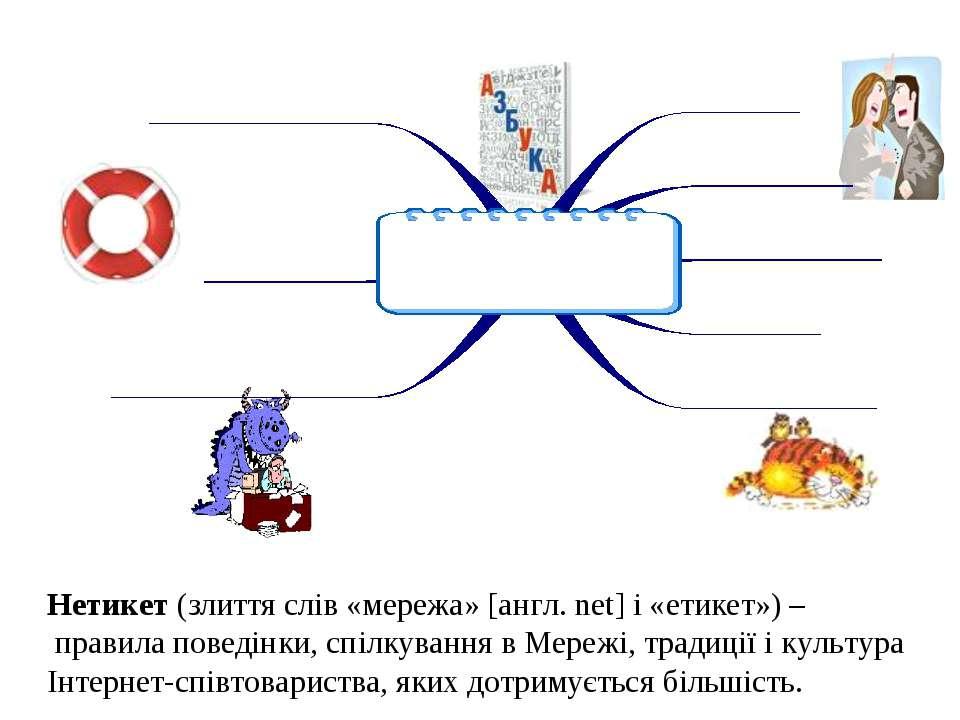 Нетикет (злиття слів «мережа» [англ. net] і «етикет») – правила поведінки, сп...