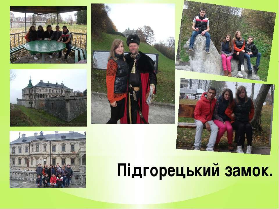 Підгорецький замок.