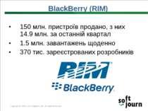 150 млн. пристроїв продано, з них 14.9 млн. за останній квартал 1.5 млн. зава...