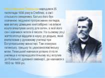 Іван Семенович Левицький-народився 25 листопада 1838 року в Стеблеві, в сім'ї...