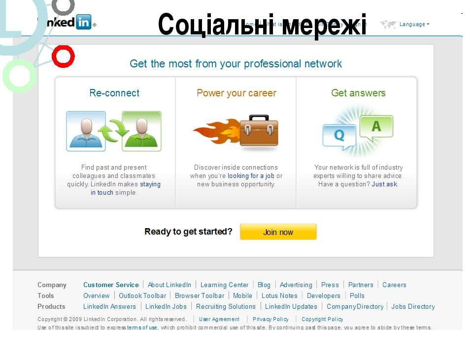 Linkedin.Com Соціальні мережі