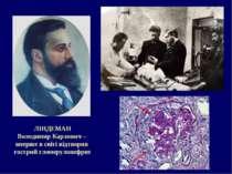 ЛІНДЕМАН Володимир Карлович – вперше в світі відтворив гострий гломерулонефрит