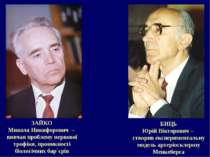 ЗАЙКО Микола Никифорович – вивчав проблему нервової трофіки, проникності біол...
