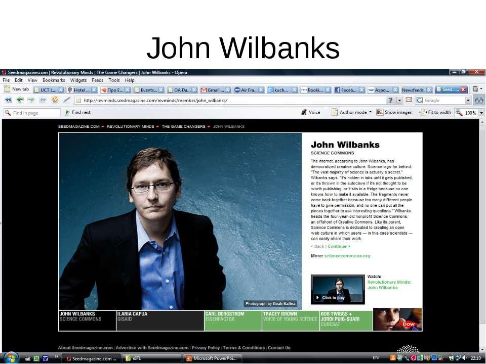 John Wilbanks
