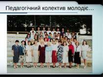 Company Logo Педагогічний колектив молодіє… Company Logo