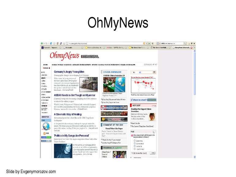 OhMyNews Slide by Evgenymorozov.com