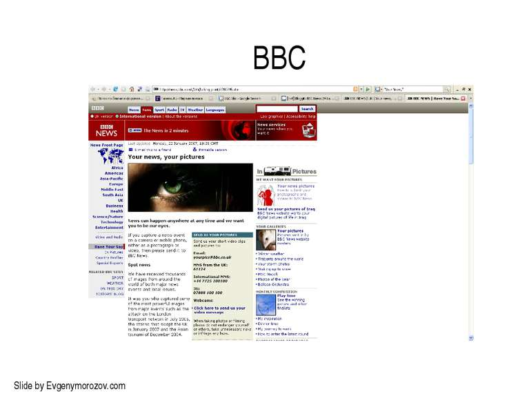 BBC Slide by Evgenymorozov.com