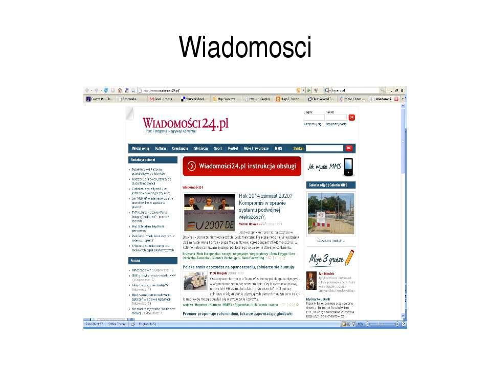 Wiadomosci