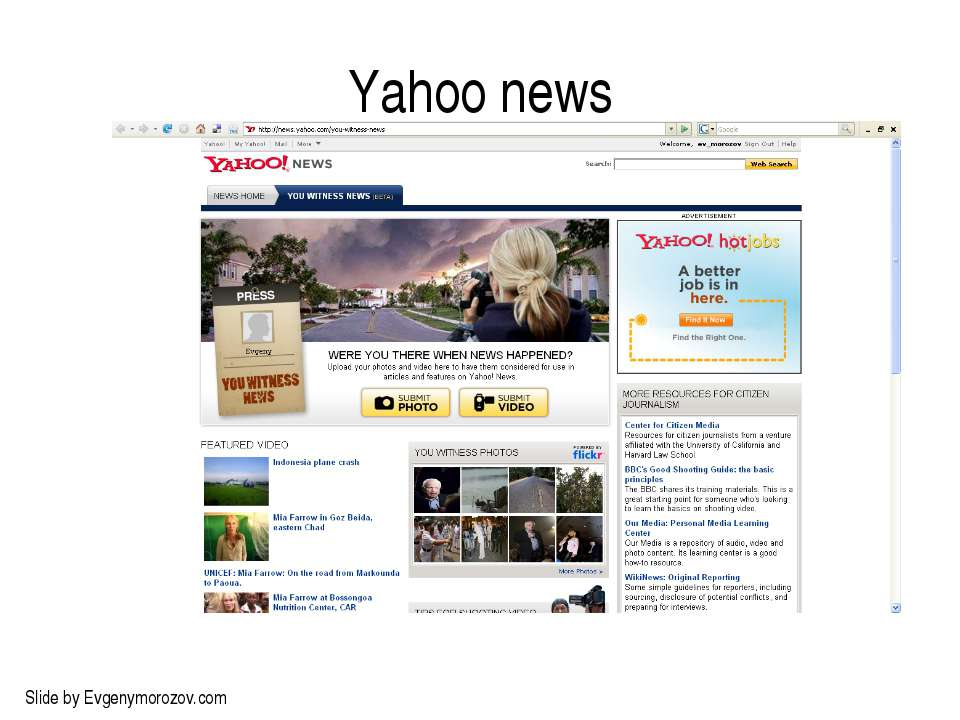 Yahoo news Slide by Evgenymorozov.com