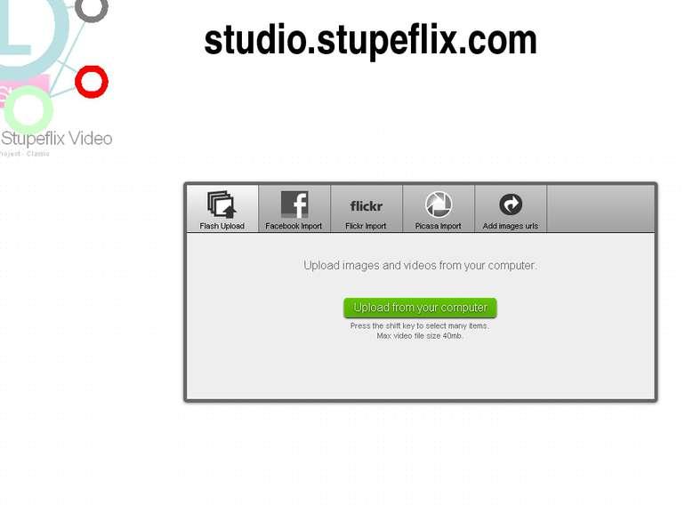 http://studio.stupeflix.com/ studio.stupeflix.com