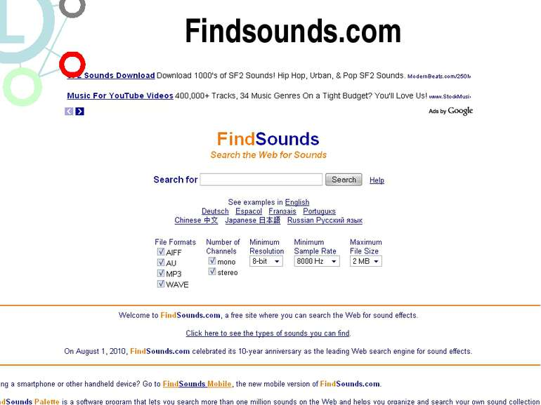 http://studio.stupeflix.com/ Findsounds.com