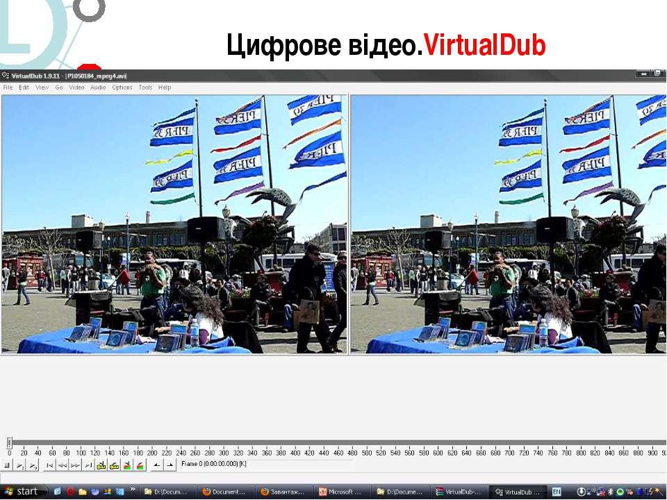 Цифрове відео.VirtualDub 5. Цифрове відео