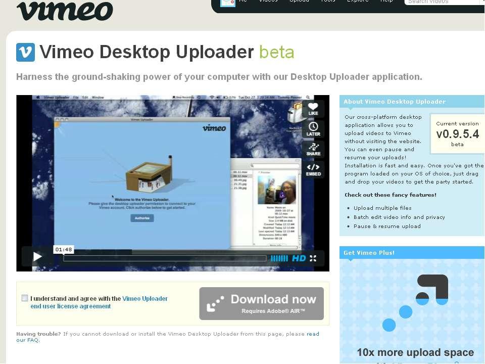 Vimeo *