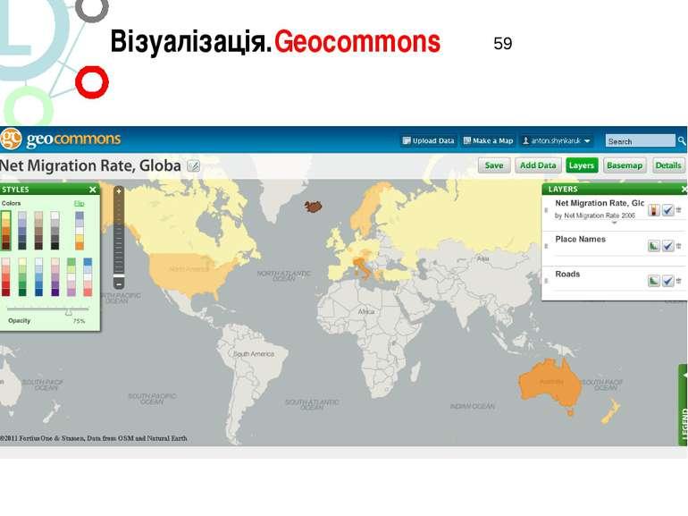 Візуалізація.Geocommons