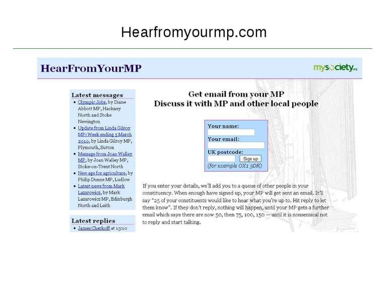 Hearfromyourmp.com