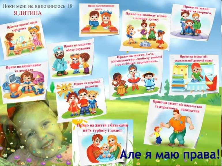 картинки права та обов язки дітей
