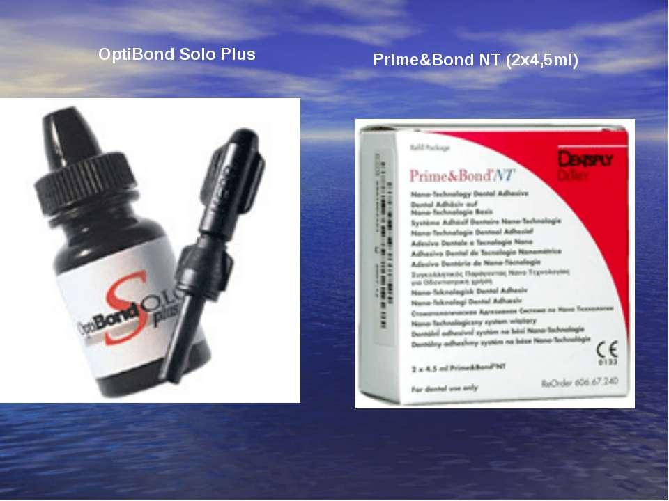OptiBond Solo Plus Prime&Bond NT (2x4,5ml)