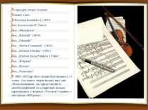 Літературні твори та праці Літературні твори та праці Головні з них: {«Powieś...