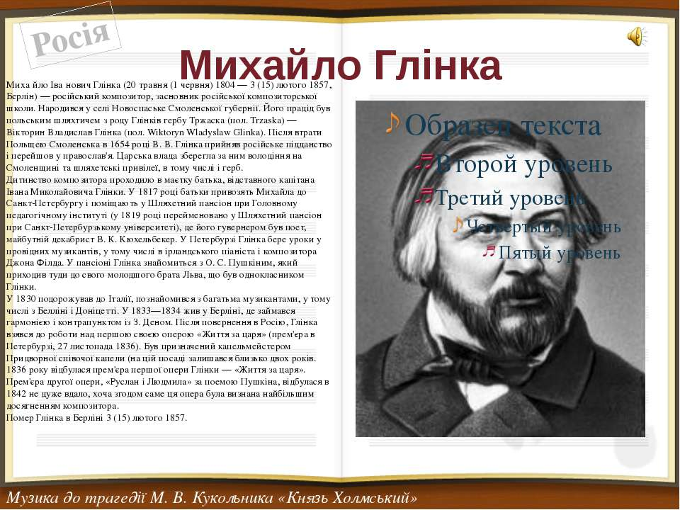Михайло Глінка
