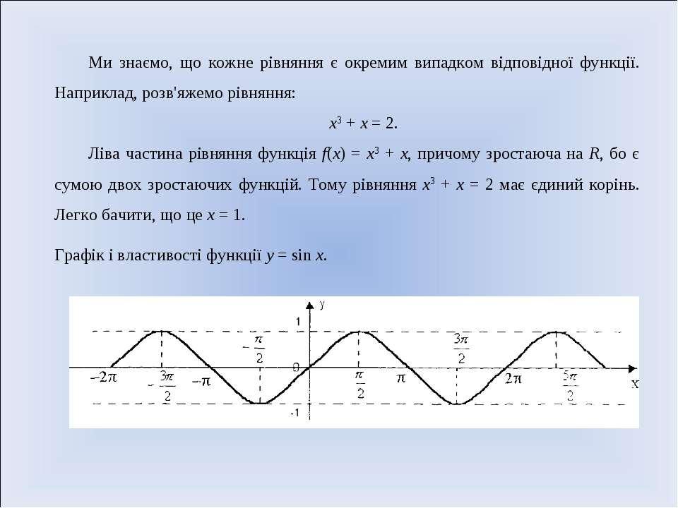 Ми знаємо, що кожне рівняння є окремим випадком відповідної функції. Наприкла...