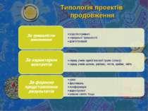 Типологія проектів продовження