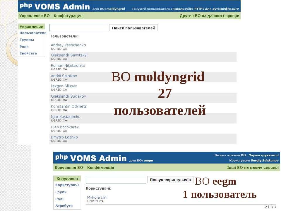 ВО moldyngrid 27 пользователей