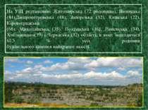 На УЩ розташовані Житомирська (72 родовища), Вінницька (84),Дніпропетровська ...