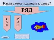 РЯД Р А Д справка При ошибочном ответе цвет заливки становится прозрачной, пр...