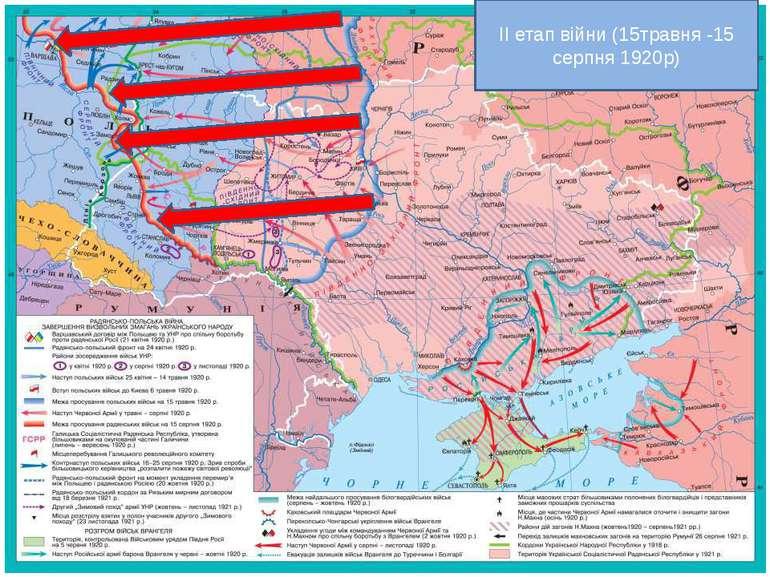 ІІ етап війни (15травня -15 серпня 1920р)