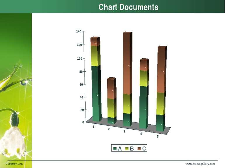 www.themegallery.com Company Logo Chart Documents Company Logo