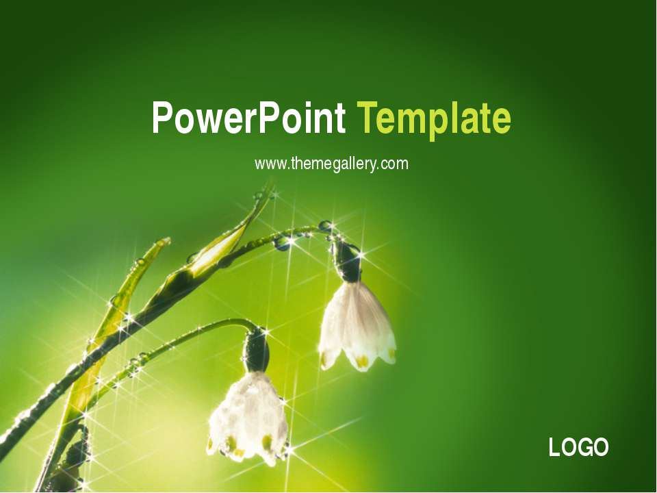 PowerPoint Template www.themegallery.com Company Logo LOGO